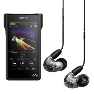 SONY HRA 워크맨 NW-WM1A 128GB + SHURE AONIC 5